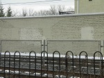 SEPTA Graffiti Removal: 2/14/12 - Devon Village Wall