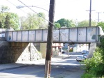SEPTA R8 Bridge over W Mt Pleasant Ave