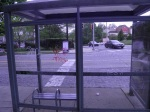 SEPTA Glass Bus Stop - Germantown Ave and Mt Pleasant Ave