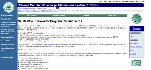 EPA_Stormwater_Rules_Web_page