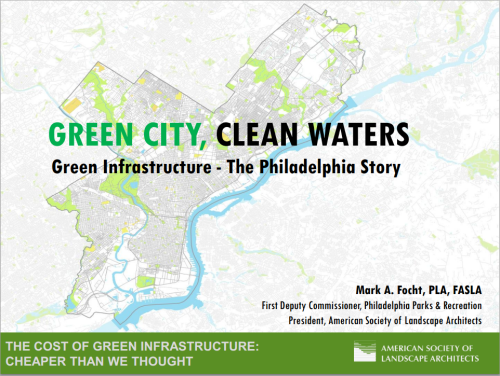 Green Stormwater