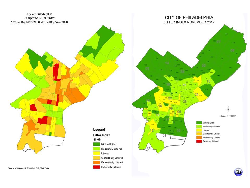 Mapping Philadelphia Litter | Environmental Challenges