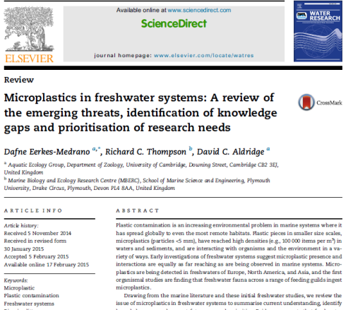 Microplastics_freshwater