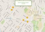 Location of 3/15/16 survey dump sites
