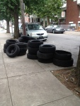 311 Photo District 8: Tire Dumping