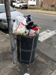 311 Photo District 8: Overflowing Trash Receptacle - Illegal Dumping