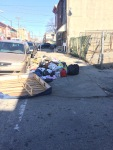 """Illegal Dumping - bags will rip and scatter trash, appearing to be """"litter"""""""